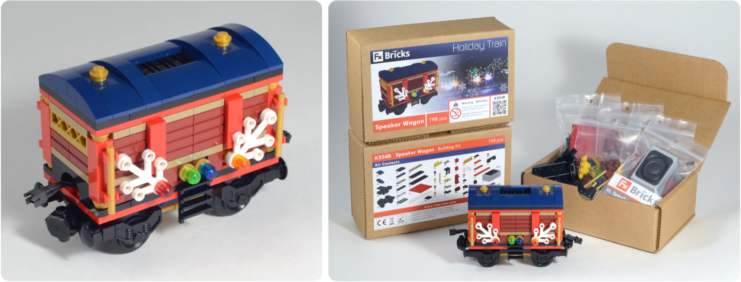 Blog Wiring Model Railroad The Speaker Wagon Is An Exclusive Custom Designed Kit To Expand Your Holiday Train Visual Style Of Has Been Carefully